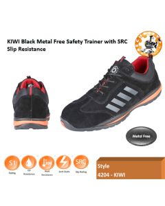 Securityline Kiwi Black Composite Trainer