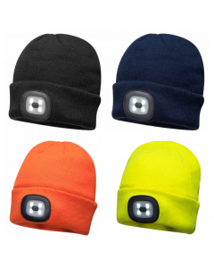 BO29 Beanie LED Head Light USB Rechargeable