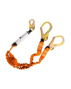 FP75 Double 140kg Lanyard with Shock Absorber