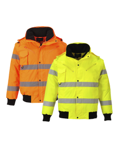 C467 Hi-Vis 3in1 Bomber Jacket