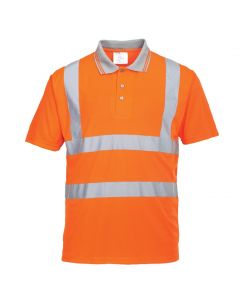 RT22 Hi-Vis Short Sleeved Polo RIS