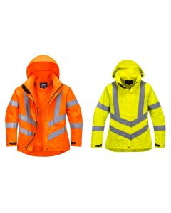 LW70 Ladies Hi-Vis Breathable Jacket