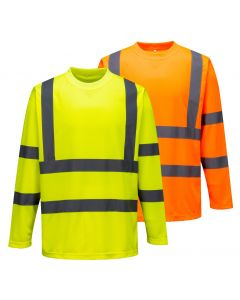 S178 Hi-Vis Long Sleeved T-Shirt